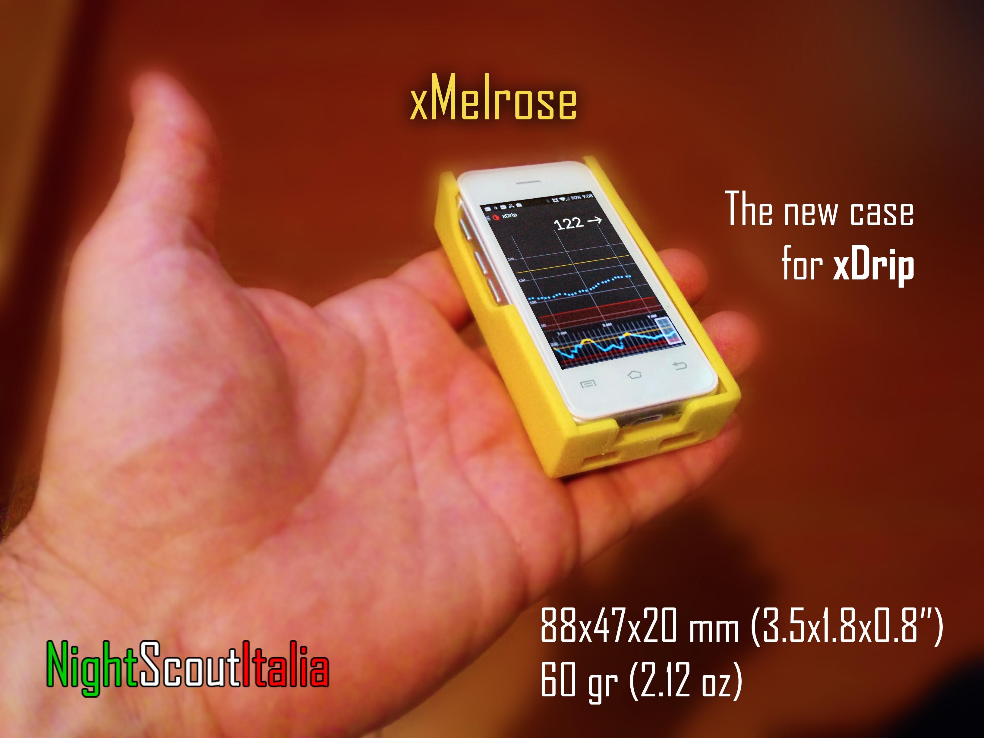 xMelrose - xDrip con un mini smartphone