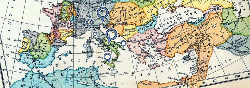 Mappa delle Scuole