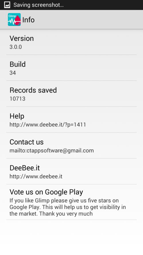 Glimp - User Manual - DeeBee it