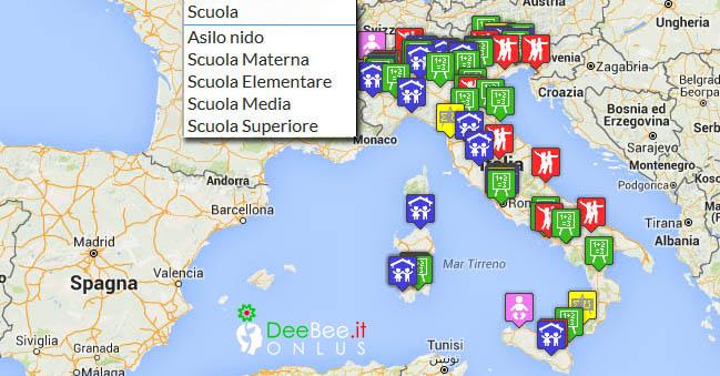 mappa scuole s_9c