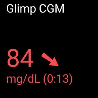 screen Glimp CGM