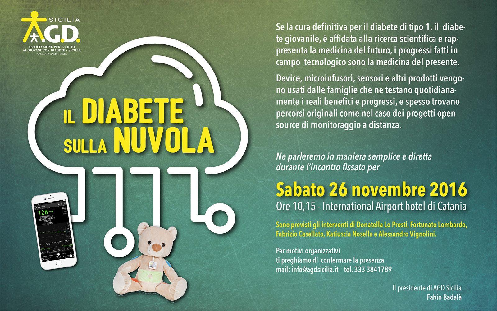 diabete sulla nuvola locandina