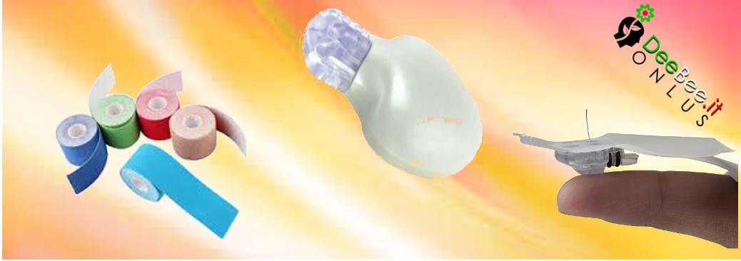 Sensore Enlite: applicazione manuale e rinforzo