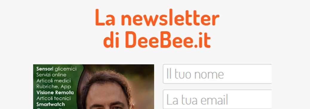 Iscriviti alla Newsletter di DeeBee.it!
