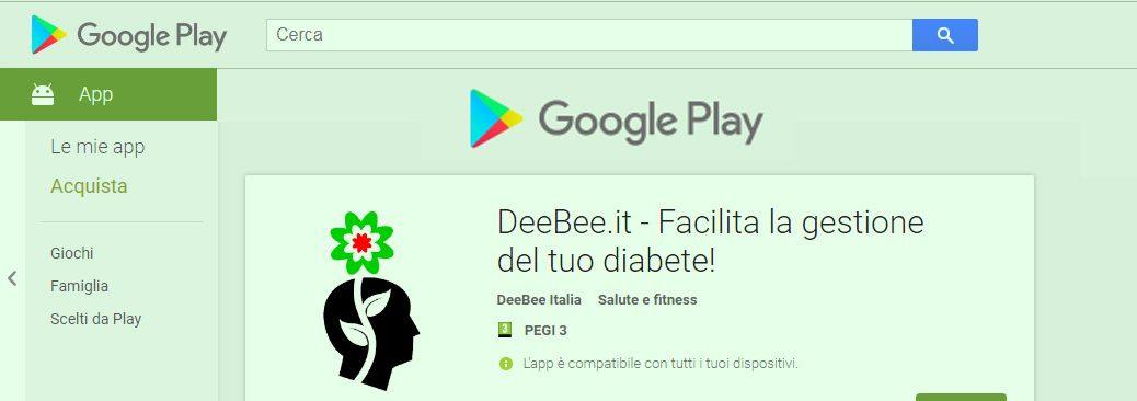 Arriva l'app di DeeBee.it per Android!