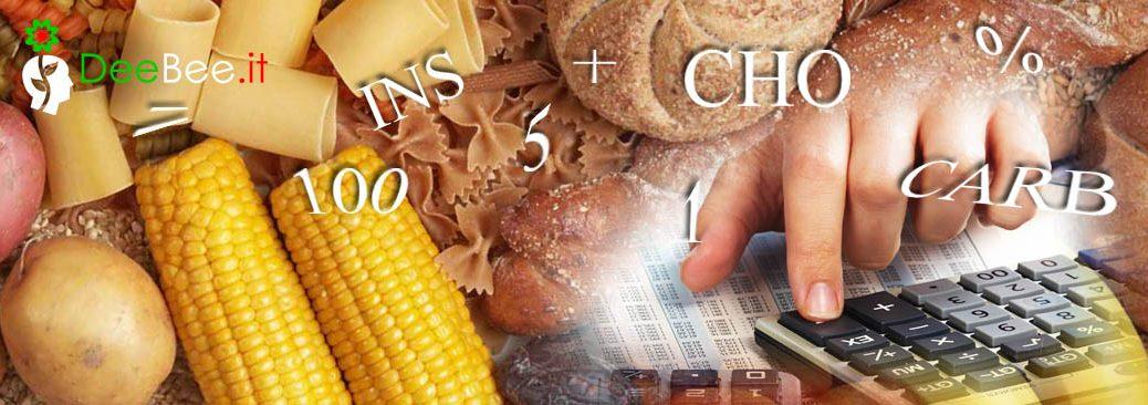 Calcolatore di carboidrati (CHO)