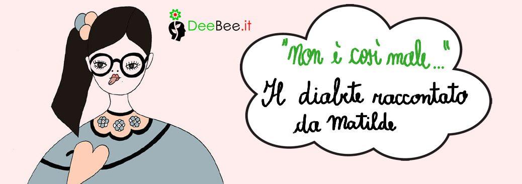 Matilde, bambina solare che fa la linguaccia al diabete (scarica il suo libro)