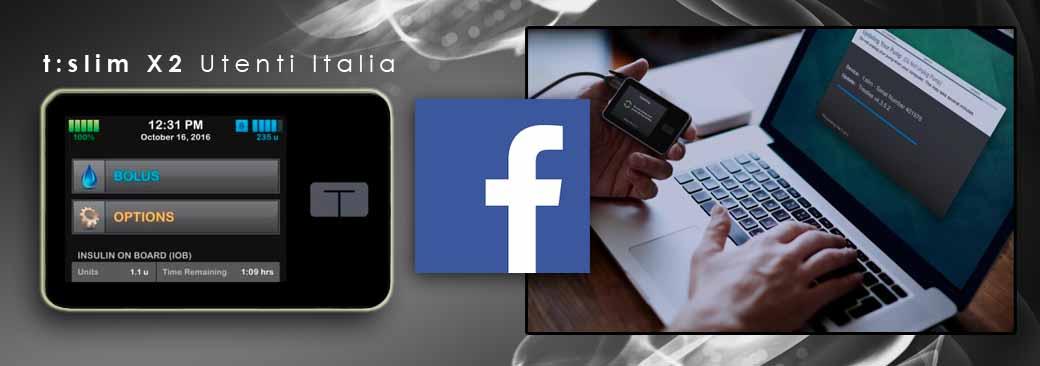 Da oggi, t:slim X2 ha il suo gruppo Facebook italiano
