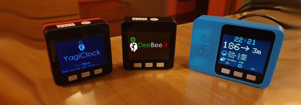 Vi presentiamo YagiClock: il primo orologio da tavolo per Nightscout e Yagi, made in DeeBee!