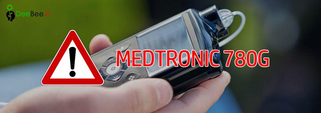 Urgente avviso di sicurezza per Microinfusore Medtronic 780G